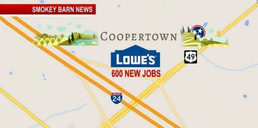 Lowe's Pays $3 6 Mil for Coopertown Land: Bringing 600 Jobs