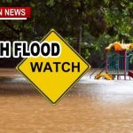 Flood Watch Issued: Wed-Thru-Sat 3-6 Inches Of Rain Expected