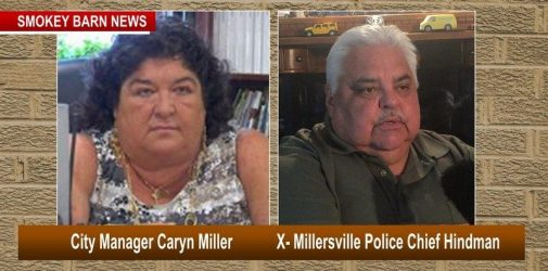 City manager Millers ville x police chief