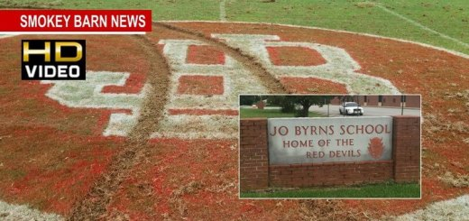Jo Byrns High School Football Field Vandalized