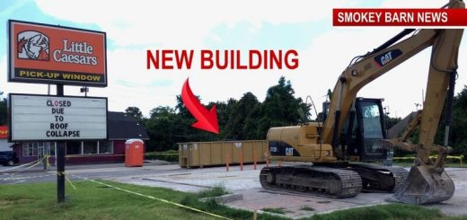 Little Caesar's In Springfield To Rebuild After City Condemns Building