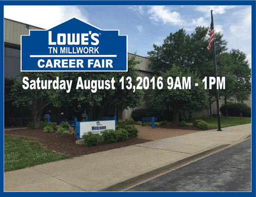 Lowes office career fair d
