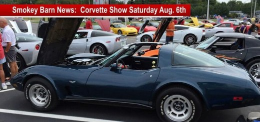 Annual Corvette Show Saturday August 6th - Door Prizes & Burgers!