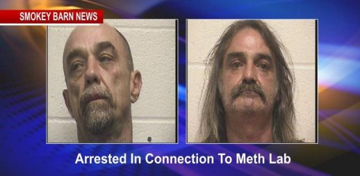 two arrested in connection to meth lab
