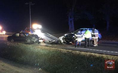 Two Hospitalized Following Head-On Crash In Cedar Hill