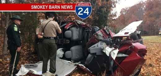 Driver Survives I24 Rollover Crash Thanksgiving Day