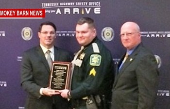 Local Deputy Wins Highway Safety Award