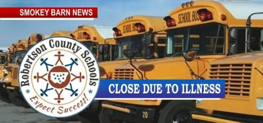 Robertson County Schools Close Due To Illness