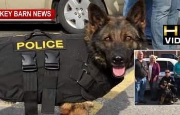 Citizens Buy Bullet Proof Vest For K-9 Officer In Greenbrier