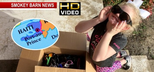 Orlinda Girl (7) Collects Hundreds Of Sunglasses For Haiti