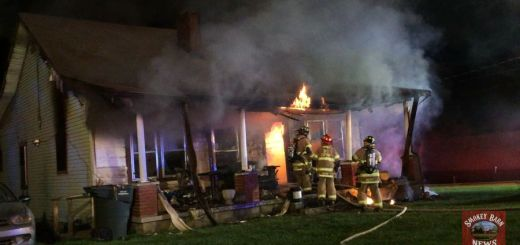 Barking Dog Alerts Neighbors To Fire -Elderly Man Saved