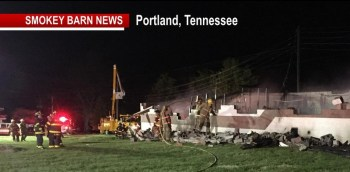 """Highland Academy Maintenance Building """"Total Loss"""" After Fire"""