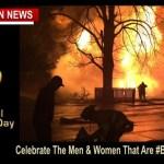 #BRAVEEVERYDAY - Today Smokey Celebrates International Firefighters' Day