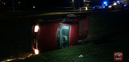 Two OK Following Rollover Crash In Springfield