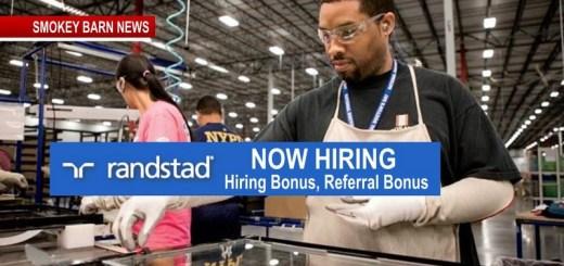 Randstad: Hiring Multiple Openings In Springfield - Hiring Bonus, Referral Bonus