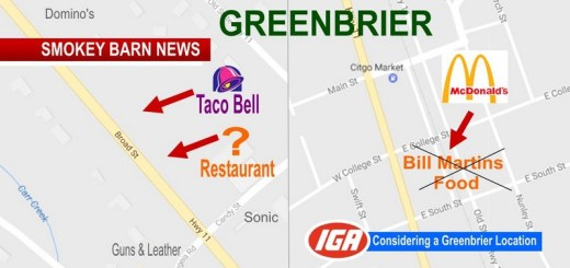 Several Food Chains Consider Greenbrier (City Officials Hopeful)