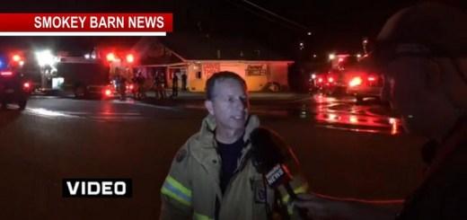 Fire Damages Korner Market In Springfield: Firefighters Make Good Stop