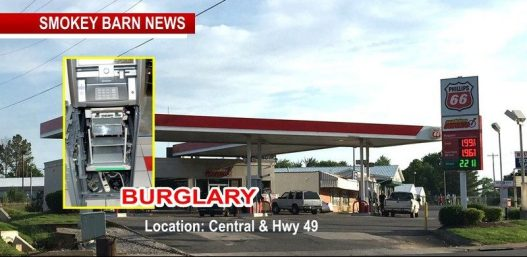Police Say Gas Station Burglary Wednesday Morning Work Of Professionals