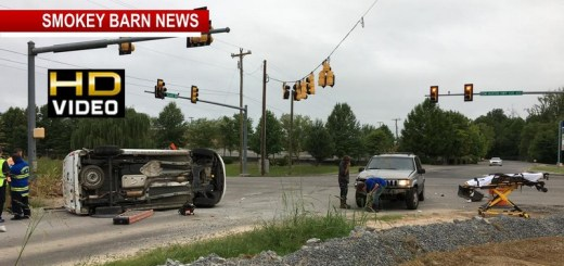 Everyone OK After Rollover Crash By Springfield Walmart