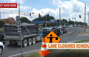 30 Day Traffic Headache Expected As Tom Austin Project Reaches Memorial Blvd