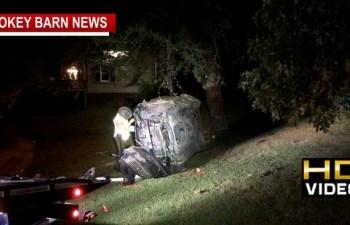 THP Investigating Rollover Injury Crash Friday Night