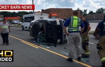 One Hospitalized In Rollover Crash In Springfield