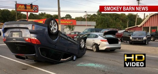 One Hospitalized In Three Vehicle Rollover Crash In Springfield