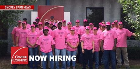 Owens Corning Now Hiring Production Associates