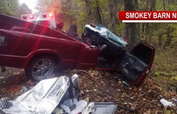 Teen LifeFlighted After Serious Crash In Greenbrier