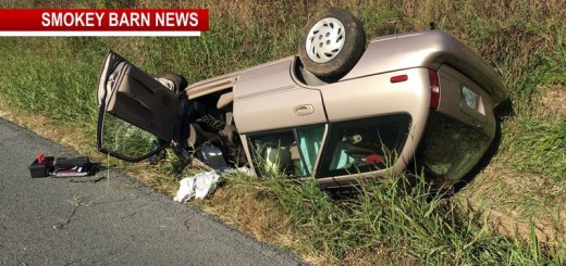 Two Hospitalized In Springfield Rollover Crash