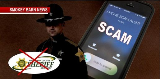 Phone Scammers Posing As A Robertson County Sheriff's Deputy