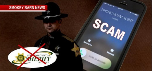 Scam Alert From The Robertson County Sheriff's Office