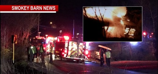 UPDATE: Macy's Bus Crashes On Hwy 49: 11 Transported From Fiery Wreck