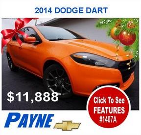 Payne 2014 Dodge Dart 1407A