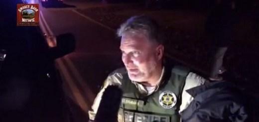 Ridgetop Manhunt Over Suspect In Custody (4 Vehicles Totaled)