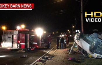 Hwy 41 Rollover Crash In Greenbrier Under Investigation
