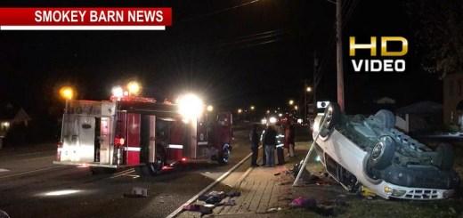 Hwy 41 Rollover Crash In Greenbrier Under Investigation