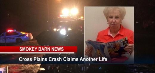 Fatal Cross Plains Crash Claims One More Life- Bettye Pedigo, 75, of Cottontown