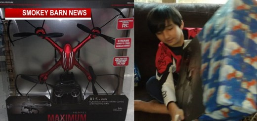 Boy's Christmas Drone Flies Away On First Launch (Have You Seen it?)