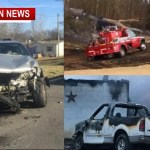 Today's Top Stories (Three Stories) 2 Fires, 1 Crash
