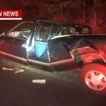 TRAFFIC ALERT: Semi VS Pickup Crash Slows I-65 South