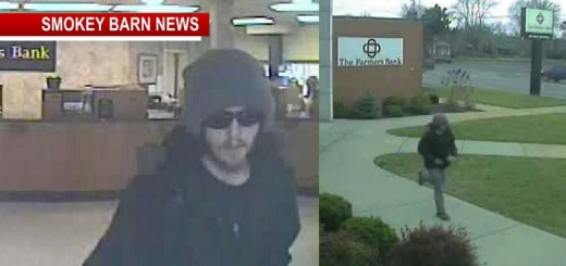 Farmers Bank Robbery In Portland (Suspect On The Run)