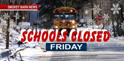 Robertson County Schools Closed Friday