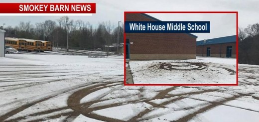 White House Middle School Hit By Vandals