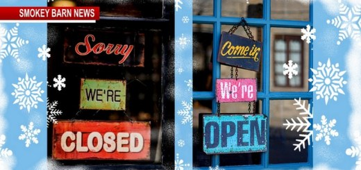 City/County/Businesses Closed Due To Weather