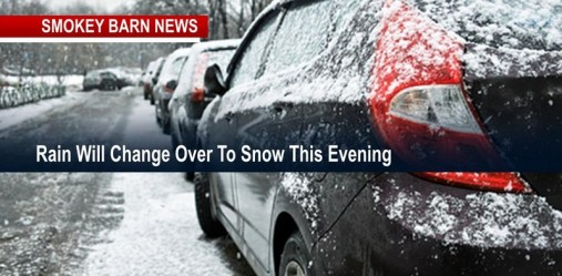 Rain To Dusting Of Snow Tonight, Dangerously Cold Temps Tuesday