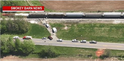 Pedestrian Struck By Train In Adams
