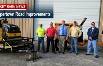 Coopertown Road Improvements Underway