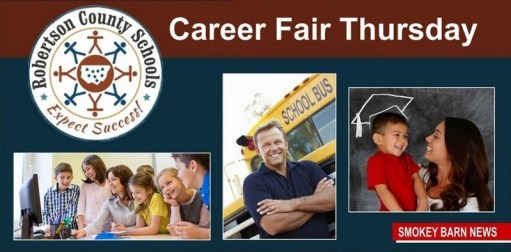 Robertson County Schools To Hold District Job Fair Thursday