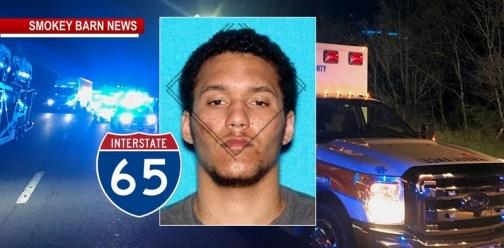Gallatin Homicide Suspect Dies After I65 Crash Near Millersville